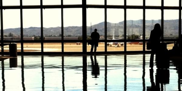 Aeropuerto por Alan Levine